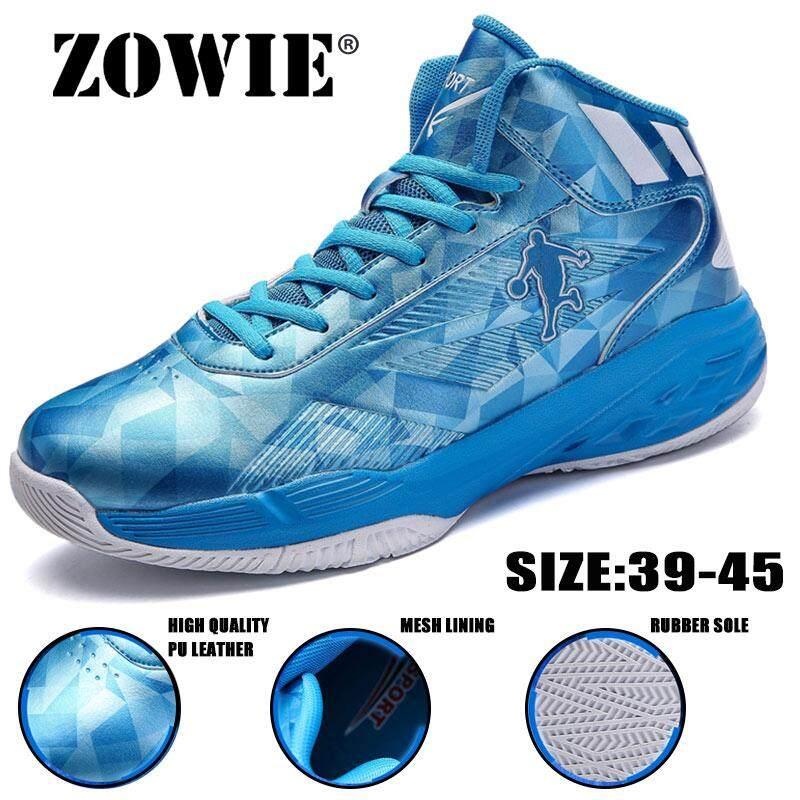 Rp 234.686. Zowie 2018 Panas Pria Sepatu Basket Fashion Olahraga Sneakers  Atasan Tinggi ... cdb1c07fa6