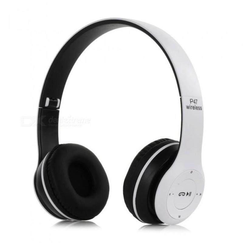 【Đang Bán Hàng】 Tai Nghe Không Dây Bluetooth Mini Có Thể Gập Lại Exqui P47 Có Nút Điều Khiển Tai Nghe MP3 Tai Nghe Qua Tai