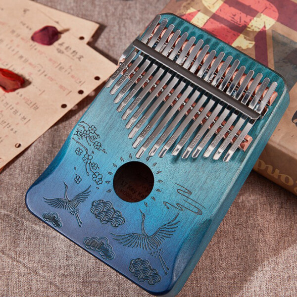 Zozo 17 Keys Kalimba Finger Piano Music Instrument African Thumb Wood Kalimba Piano Malaysia