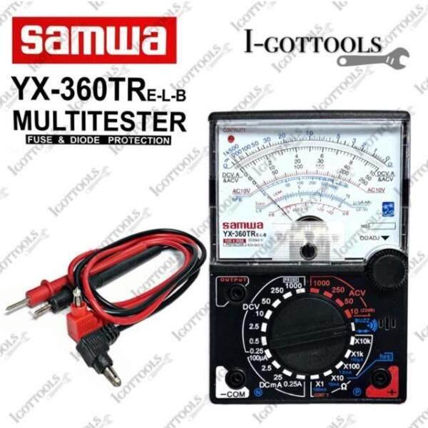 SAMWA YX-360TRE-L-B Multimeter With LED and Buzzer/Analog Multimeter