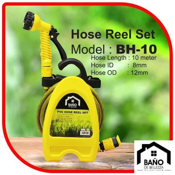 BANO BH-10 10m Garden Hose Reel Set Water Inlet