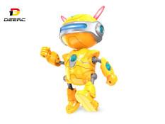 Đồ chơi Robot FX-J01 DEERC có tư thế kép, chức năng nhận dạng giọng nói và lặp lại, phát nhạc, đồ chơi giáo dục thông minh thích hợp làm quà tặng cho trẻ em mới biết đi – INTL