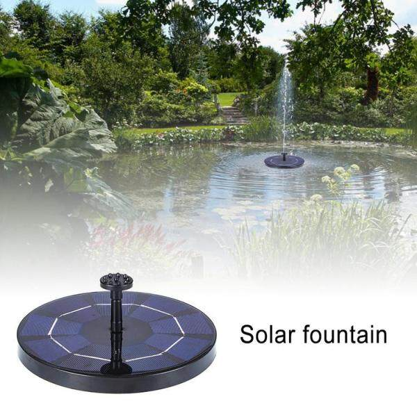 Viugreum Solar Fountain Free Standing Solar Powered Water Fountain Pump Kit for Outdoor Garden