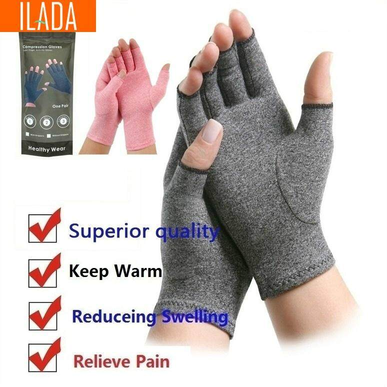 ILADA Compression Gloves Rheumatoid Medical Compression Gloves for Men & Women Osteoarthritis