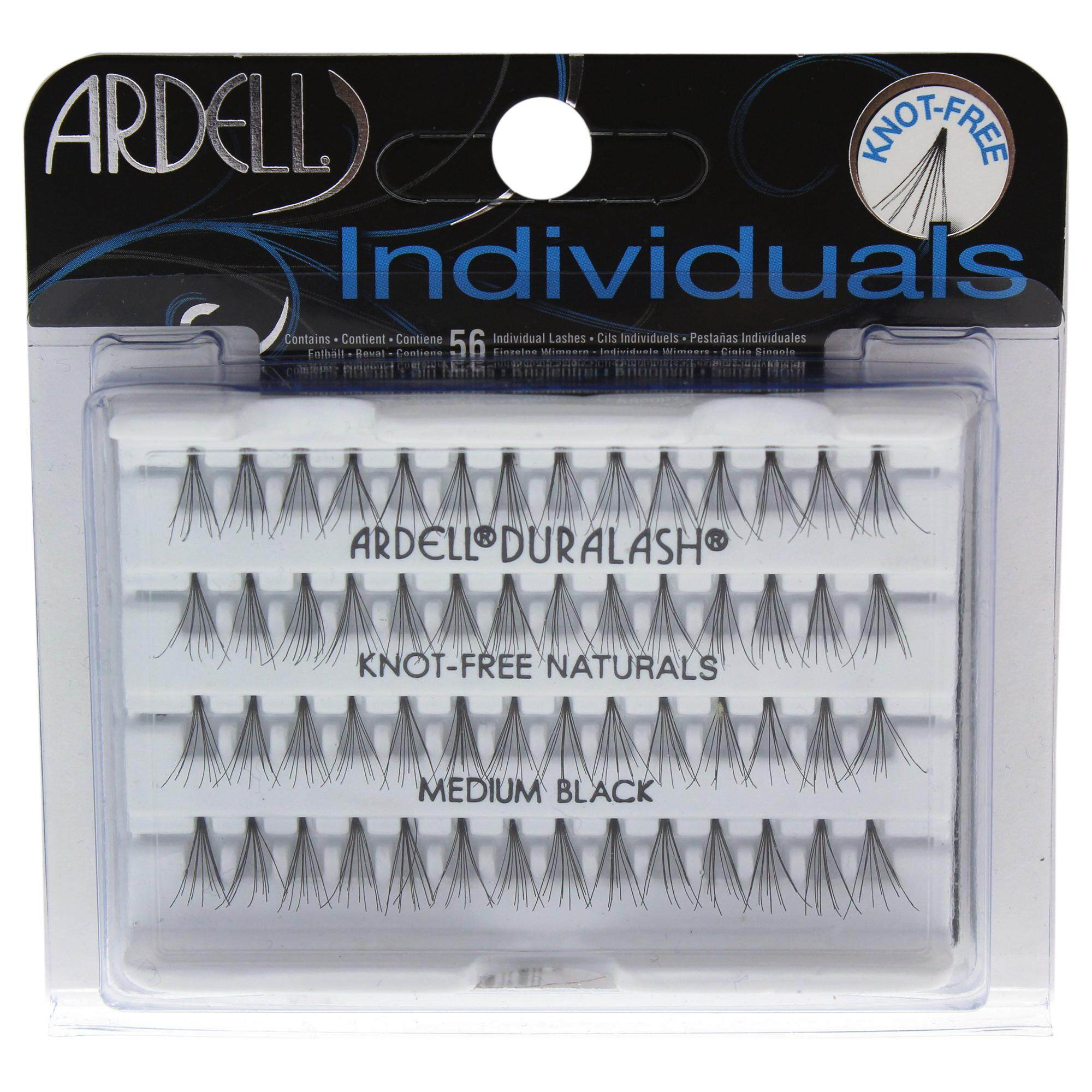 5b72f3c10ce Ardell DuraLash Individuals Naturals Lashes Set - Medium Black - 56 Pc  Eyelashes