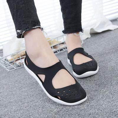 c70c5138e Women s Sandals 2019 Fashion Lady Girl Sandals Summer Women Casual Jelly  Shoes Sandals Hollow Out Mesh