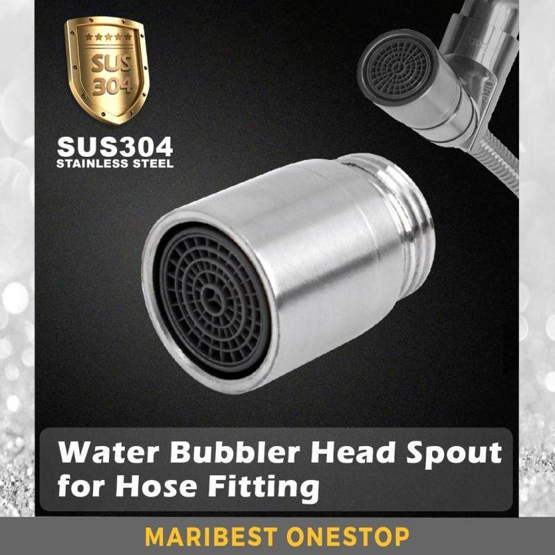 SUS304 Stainless Steel Water Bubbler Head Spout For Bidet Hose Fitting