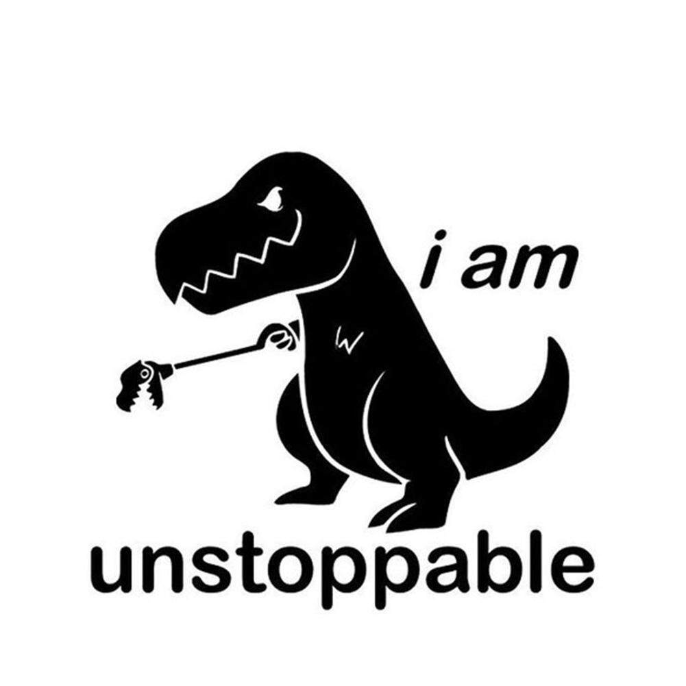 Xi แฟชั่น I Am Unstoppable ตัวอักษรรูปแบบรถยนต์สติกเกอร์สะท้อนแสงสติกเกอร์ติดรถยนต์ตกแต่ง By Xiyuan Fashion.