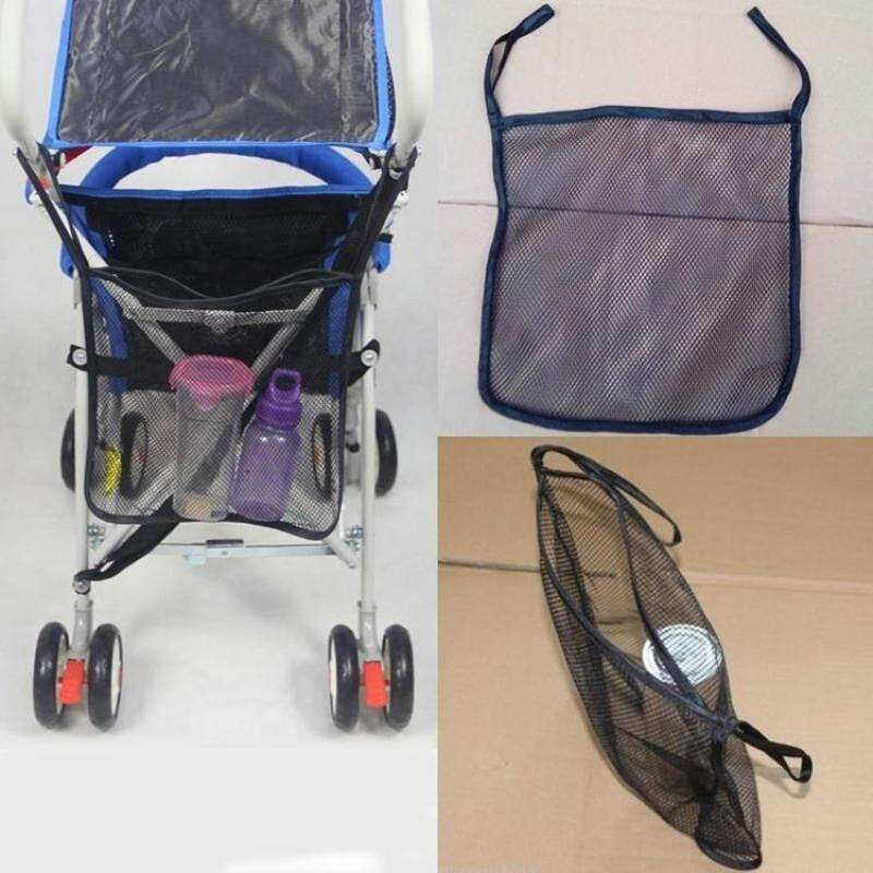 Feng Qi Fancy Baby Car Bag Stroller Accessories Magnetic Baby Stroller Organizer Mesh Hanging Storage Bag Singapore