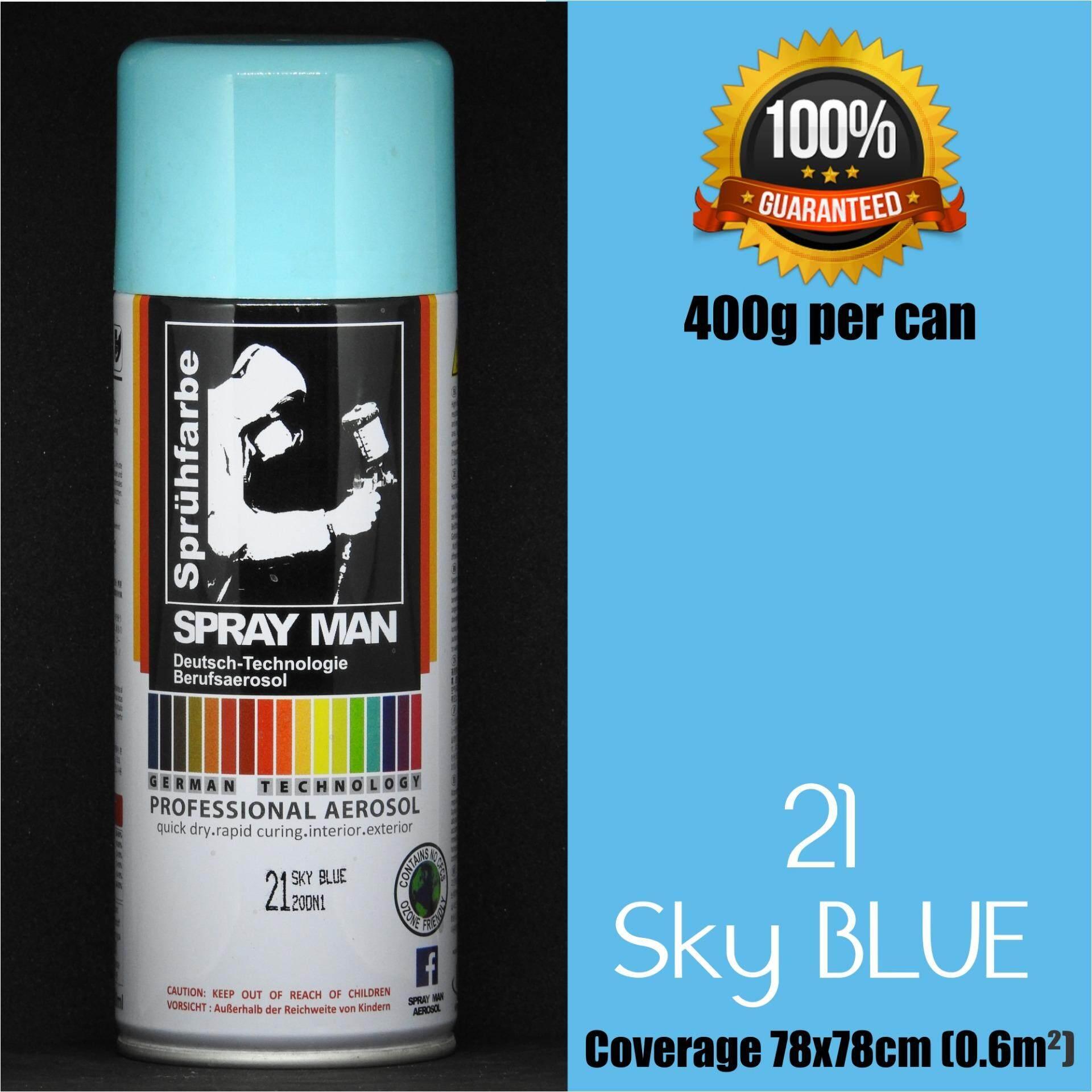 Aerosol spray paint Spray Man #21 Sky Blue 400ml