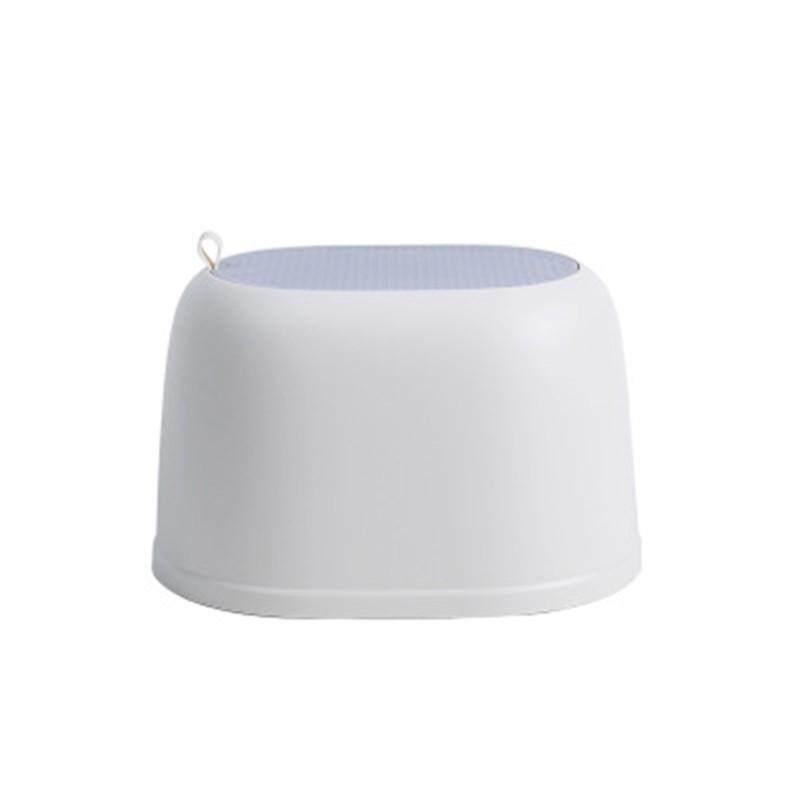 1PC 36*27.3*22.1CM Bathroom Anti-slip Stool Home Living Room None Slip Chair Childrens Adult Plastic Stool Bearing 100KG