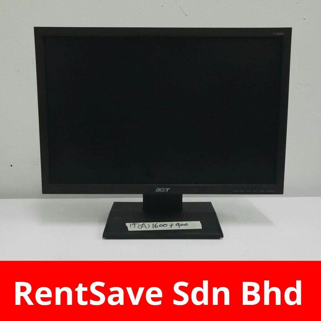 Branded 19 inch Widescreen Monitor Malaysia