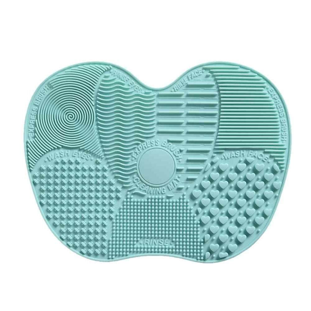 Risoo Silicone Brush Cleaner Cosmetic Make Up Washing Brush Gel Cleaning Mat Foundation Makeup Brush Cleaner Pad Scrubbe Board By Risoo.