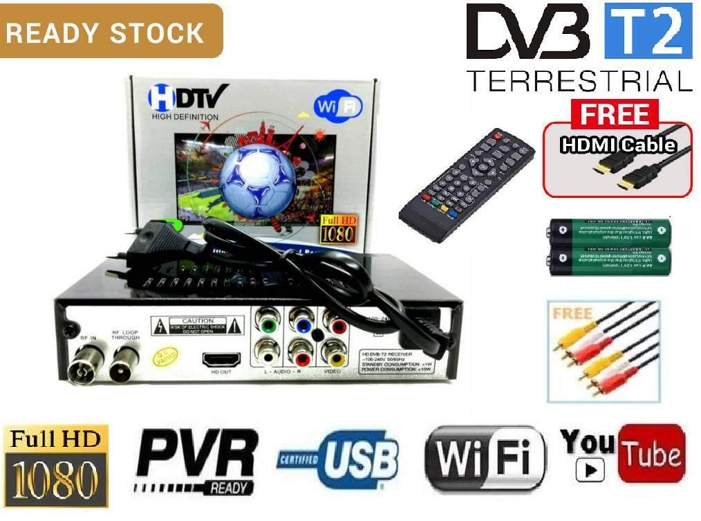 Mytv DVB T2 HD DTTV My Freeview Digital TV Decoder