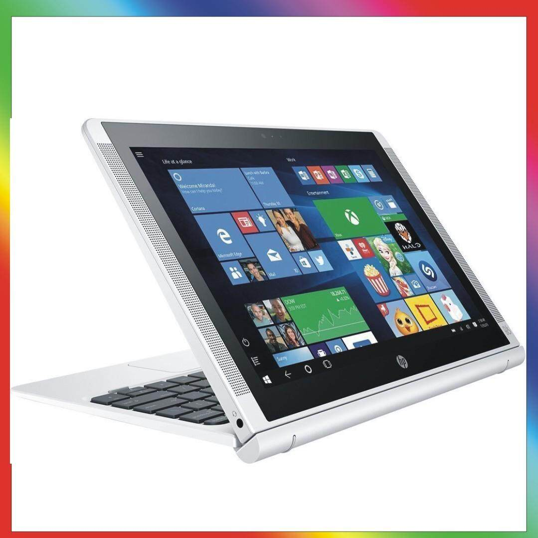 HP Pavilion x2  210 Detachable 2-in-1 Laptop Tablet PC 10.1, HD IPS Touchscreen Intel Quad-Core Atom x5-Z8350, 64GB eMMC SSD, 2GB RAM, 802.11ac, Wifi, Bluetooth, Windows 10-Silver Malaysia