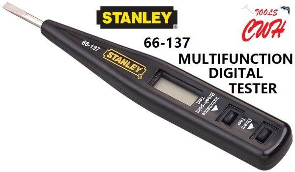 STANLEY MULTIFUNCTIONAL DIGITAL TESTER WITH LCD DISPLAY SCREWDRIVER BREAK POINT 66137 66-137