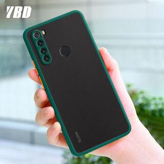 Ốp Bảo Vệ Máy Ảnh Chính Xác YBD Dành Cho Xiaomi Redmi Note 8 Pro Ốp Lưng 8pro Ốp Lưng Nhựa PC Cứng Mờ Nhiều Màu Ốp Điện Thoại Chống Sốc thumbnail