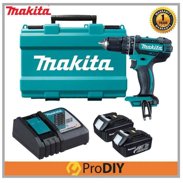 MAKITA DHP482RFE Cordless Drill Hammer Driver Drill