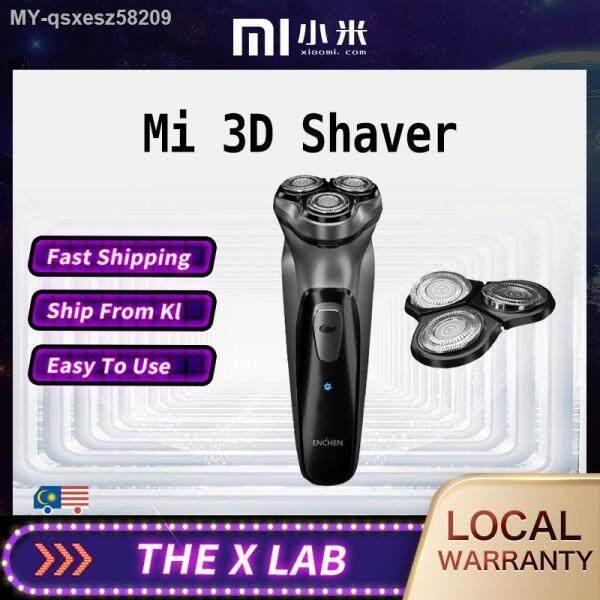 🔥READY STOCK  🔥Xiaomi Electric Face Shaver BlackStone 3D Electric ShaverMen Washable USB Rechargeable Shaving