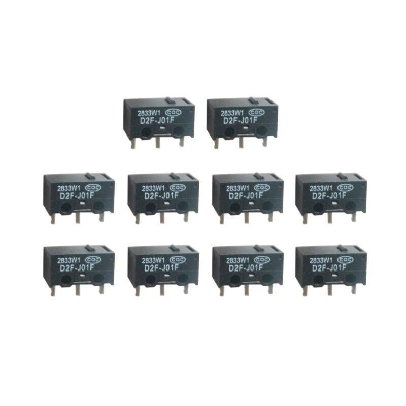 Giá 10 Chiếc D2F-J01F Chuột Micro Chuyển Micro Nút Bạc Contactor Chuột