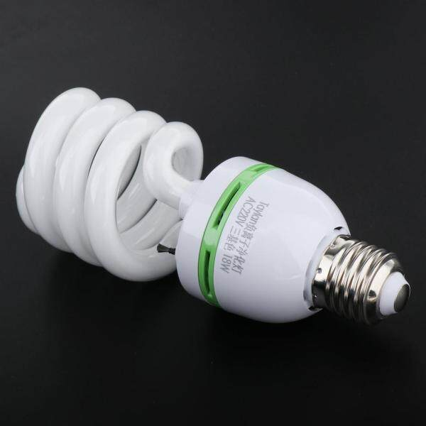 Fityle E27 Negative Ion Spiral Light Bulb Energy Saving Air Purifier Bulb