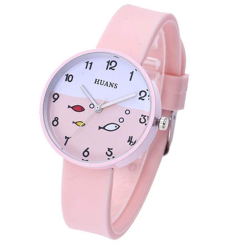 Nơi bán Poruis trẻ em Đồng Hồ Sinh Viên Đồng Hồ Dây đeo Silicone Đồng hồ đeo tay thời trang cho bé trai bé gái
