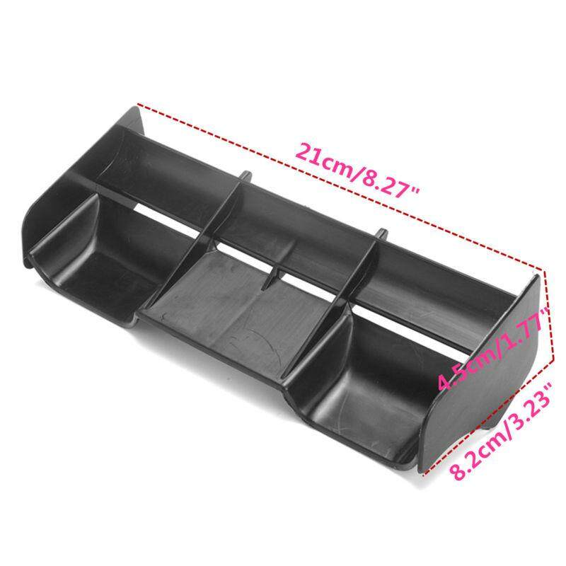 Valueshopping-Mal 1pc Plastic Rear Wing Black For 1:8 Buggy Rc Drift/car Off Road Body Spoiler By Valueshopping-Mal.