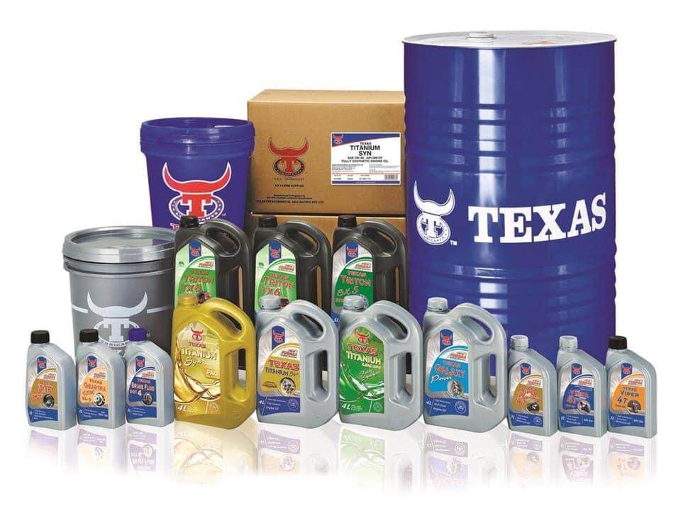 TEXAS Titanium Fully Synthetic 5W40 High Performance Engine Oil 4L