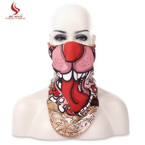 BENICE WARM PROTECTION SKIING RIDING CYCLING FACE MASK FOR OUTDOOR WINTER ACTIVITY (COLORMIX)