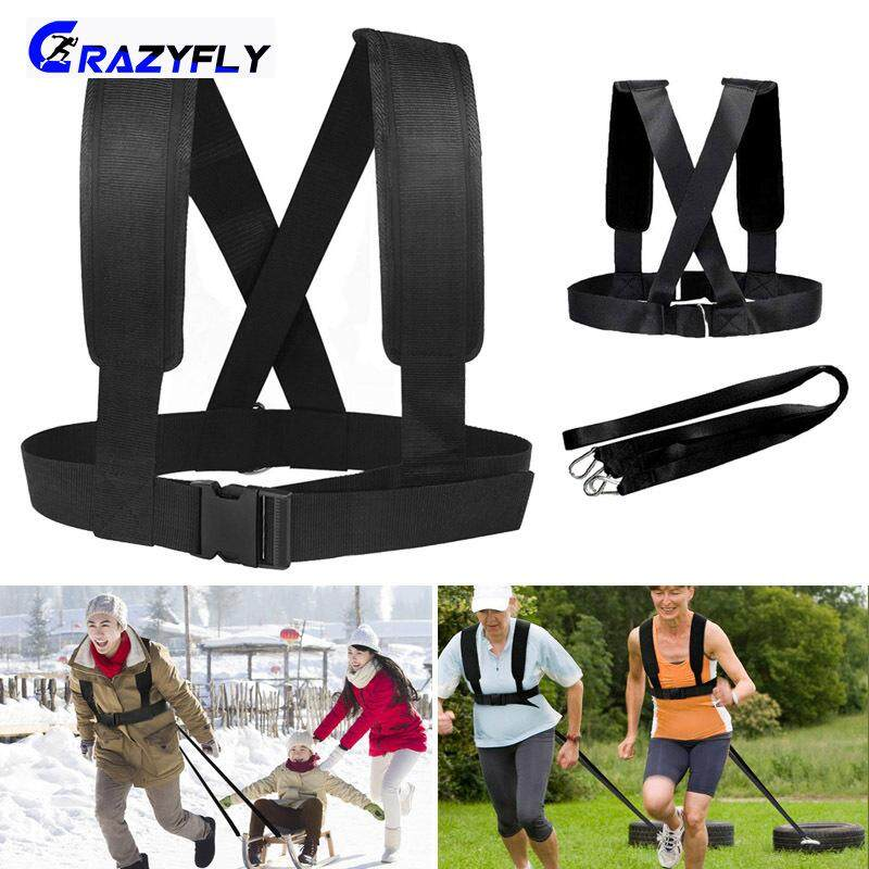 Crazyfly Fitness Exercise Band Shoulder Strap Weight Bearing Resistance Band Training Accessories By Crazyfly.