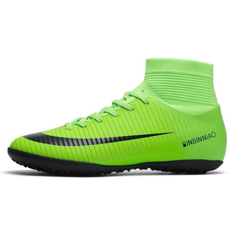 dc04933cfb15c (TF Size 35-45) Men Futsal Shoes Sports Turf Cleats Artificial Grass Field