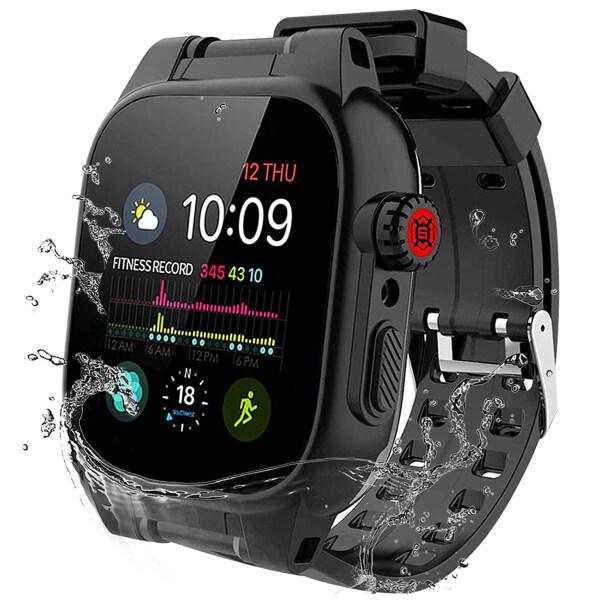 Vỏ Đồng Hồ Apple Watch 44Mm 42Mm Series 6 SE 5 4 3 2, ốp Chống Sốc Bảo Vệ Toàn Diện Cho Apple Watch Series 6 SE 5 4 3 2, 44Mm 42Mm-Intl