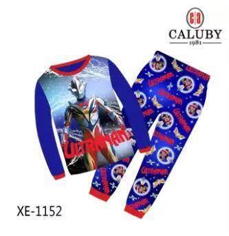 [s&s] Caluby Sleepwear Pyjamas/pajamas - Ultraman By Sun & Stars Kids Wear.