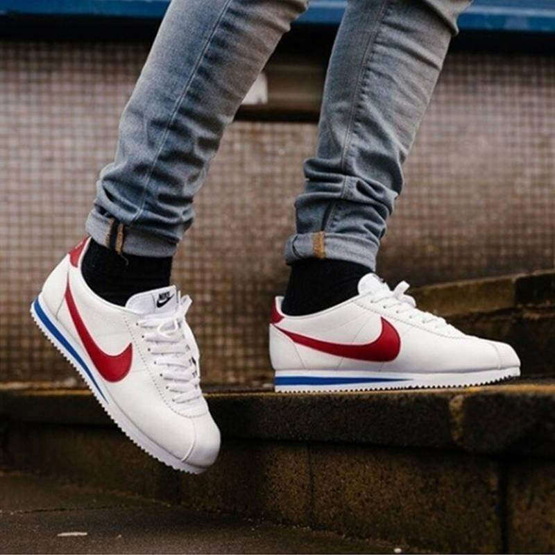 hot sale online 22763 8daa2 *Limited Time Offer*【Ready Stock】Original!Nike Cortez 72 Forrest Gump  canvas sports shoes Outdoor running shoes