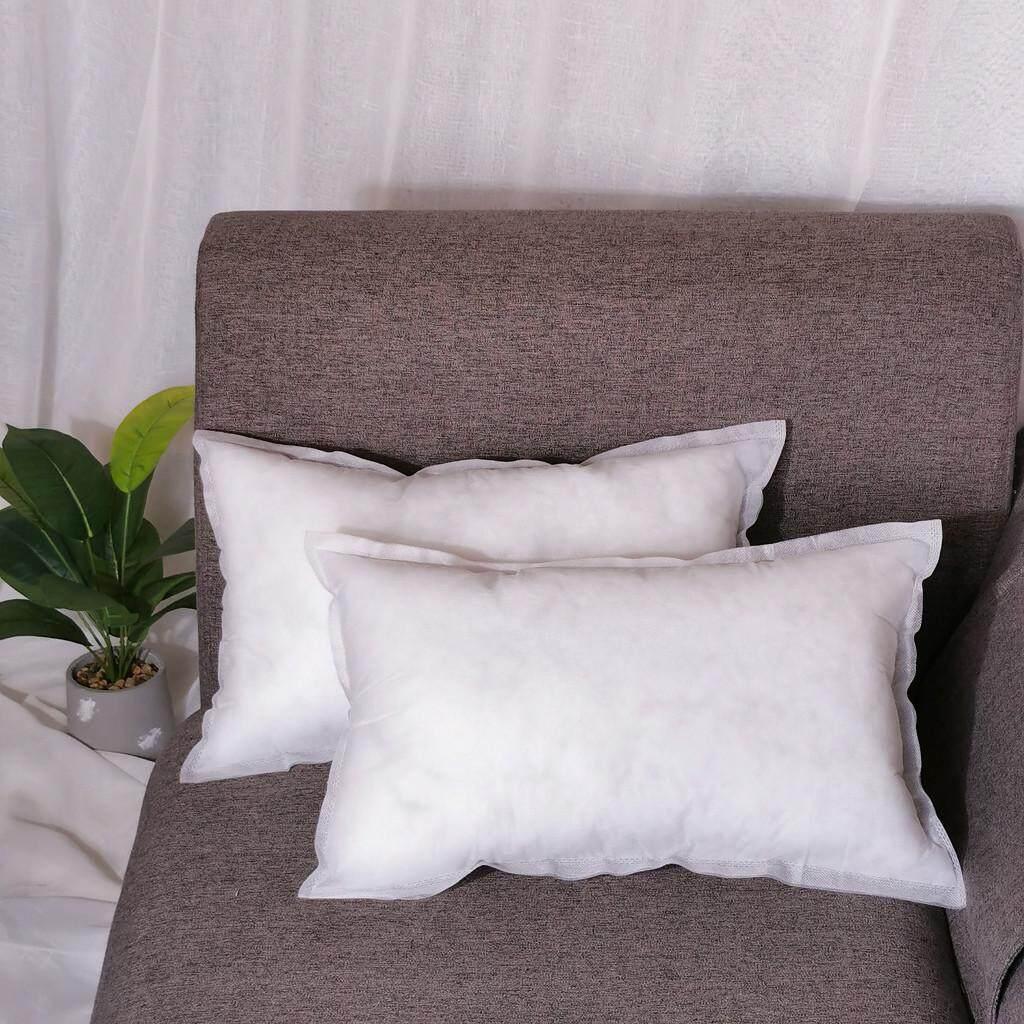 GOULD Non-woven Pillow Cushion Core Pillow Interior Home Decor White 35X55cm