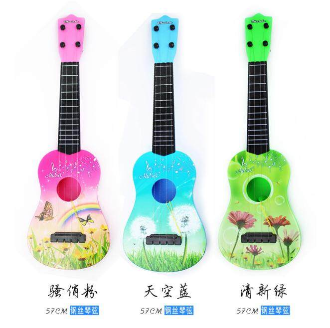 Pendidikan Anak Dini Alat-Alat Musik Empat Senar Ukulele Kecil Gitar Mainan By Devo Ting.