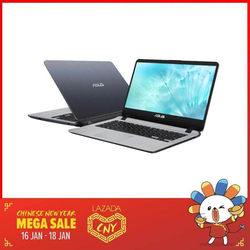 Asus Vivobook A407U-BBV179T 14 Laptop Grey (i5-8250U, 4GB, 1TB, MX110 2GB, W10) Malaysia