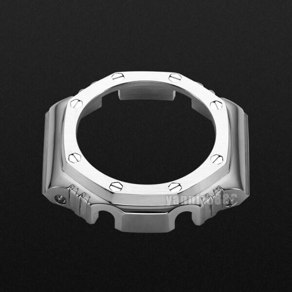 Phụ kiện sửa đổi Casio G-SHOCK dây đeo vỏ kim loại GA-2100 Đồng hồ đeo tay trang trại bán chạy