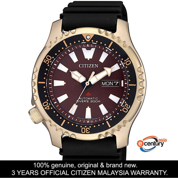Citizen NY0083-14X Mid-Size Promaster Marine Automatic Divers 200M Asia Limited Edition Watch Malaysia