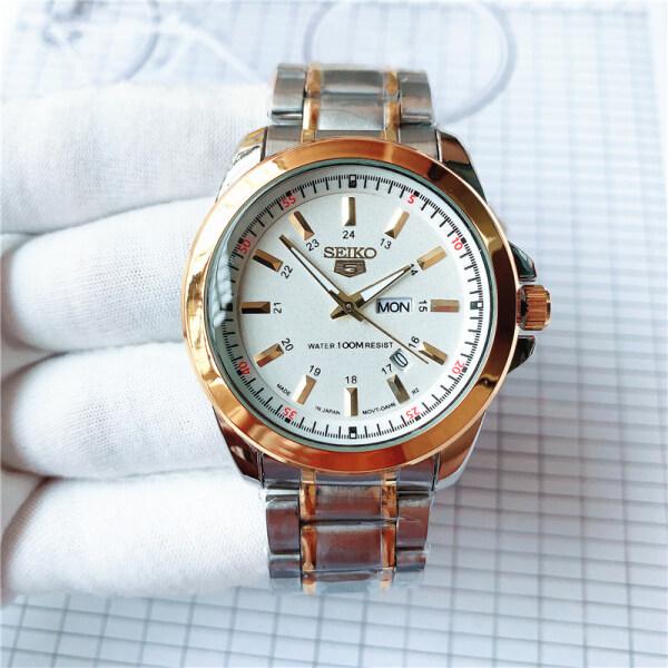 S-eiko watch men 5 quartz watch Luxury Brand Waterproof Sport Wrist Watch S-E-I-K-O Date mens watches Seiko5 waterproof watch Malaysia