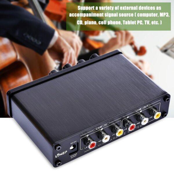 Bộ Trộn Karaoke Mini OSMAN Với Bộ Điều Khiển Âm Lượng Micro Kép