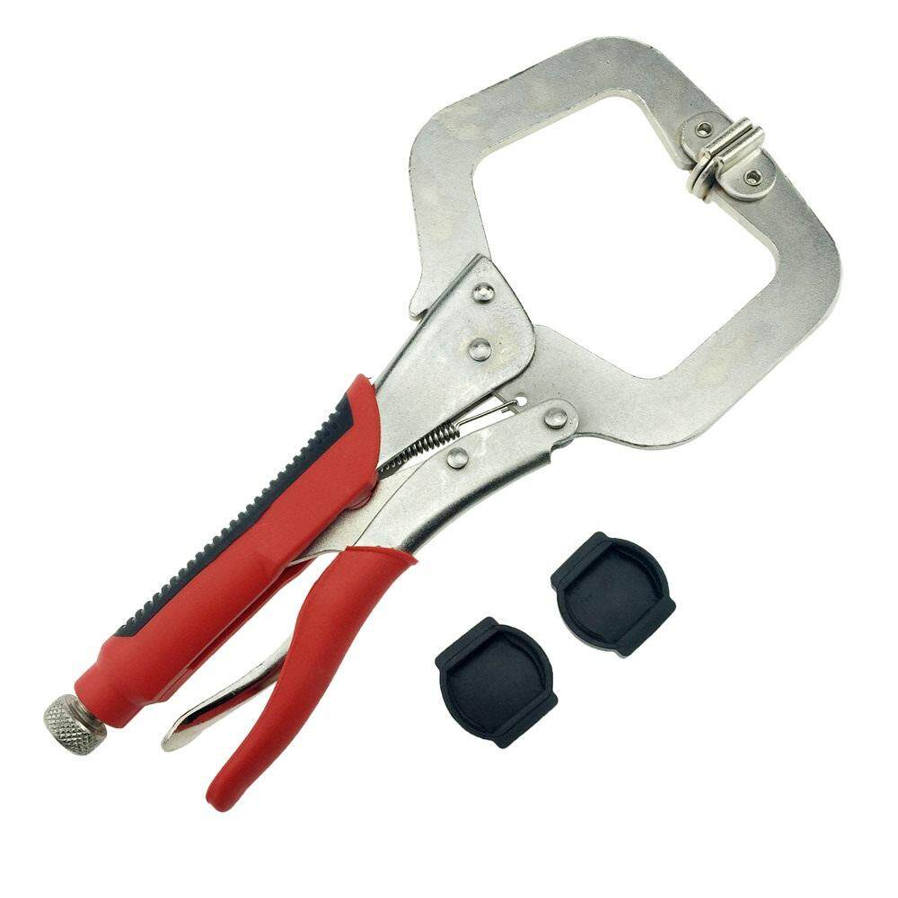 11 inch Pocket Hole Jig System Face Clamp Vise For Kreg Manual Woodworking Step Drill Bit Adjustable Thickness