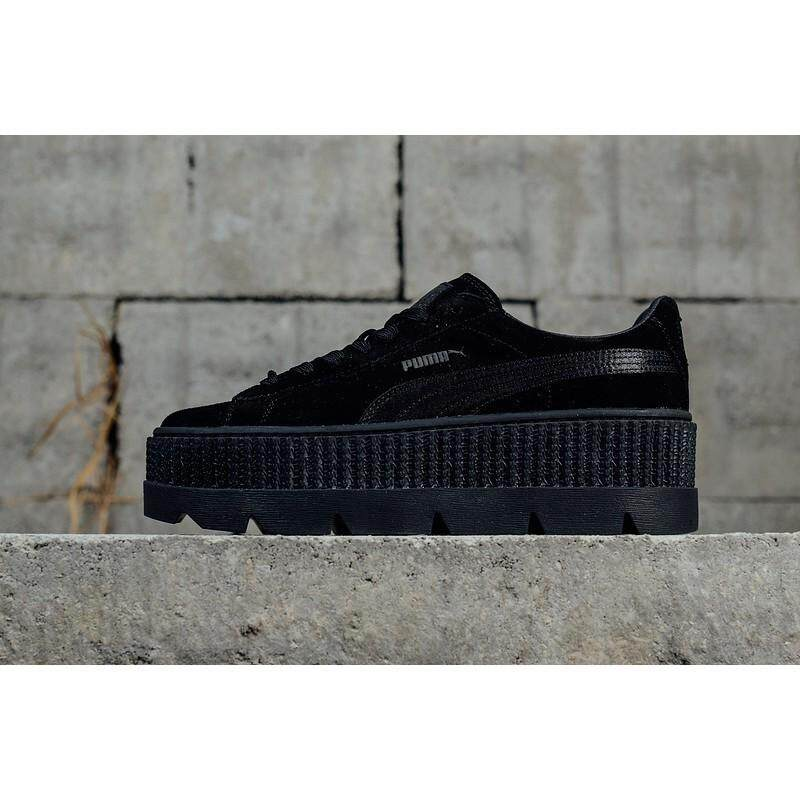 newest collection b3d97 7777a SLK Original ☆ Hot Sale PUMA Fenty Cleated Creeper Womens Fashion Outdoor  Shoes