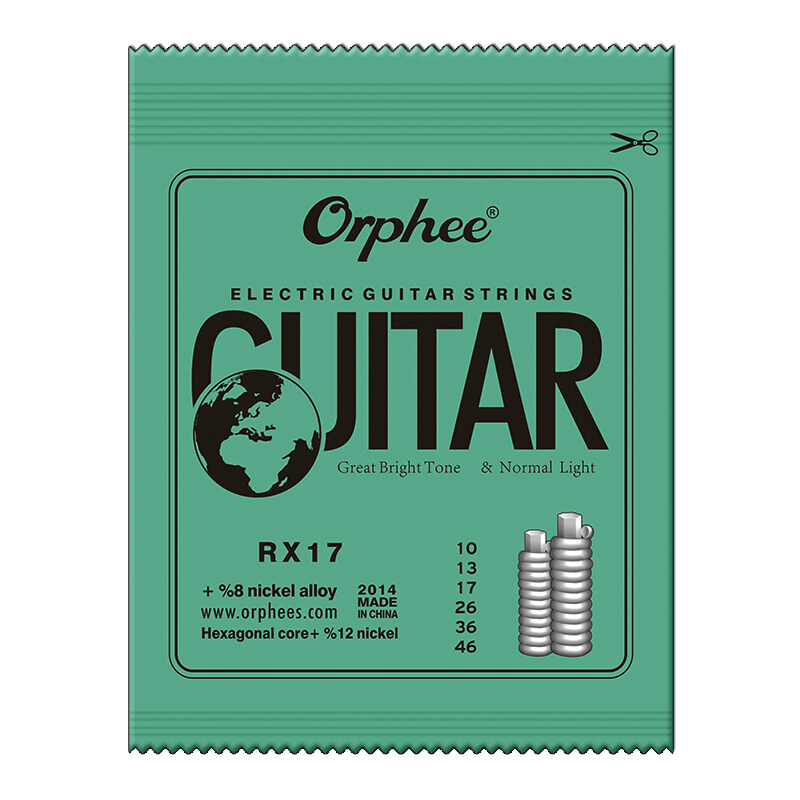 6 Pcs Guitar Strings RX15/RX17/RX19 Electric Guitar Strings Super Light Malaysia
