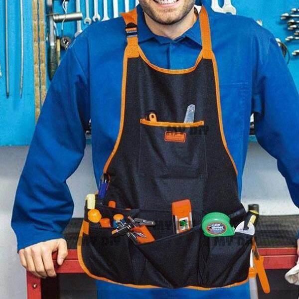 MYDIYHOMEDEPOT - Horusdy Tool Holder Belt 16 Pockets SDY90504 560x580mm / 16 Pocket Canvas Work Apron Electrician Carpenter Tool Holder Waterproof