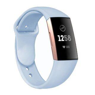 Dây Đeo Đồng Hồ Thông Minh Silicon Mềm Cho Fitbit Charge 3, Dây Đeo Cho Charge3 4 Dây Đeo Cổ Tay Thể Dục Thể Thao Thay Thế Phụ Kiện Dây Đeo thumbnail