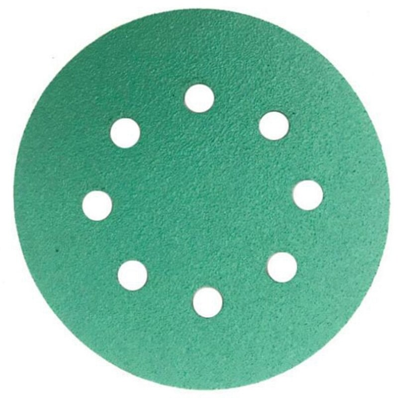 25 Pcs Professional Anti Clog 125 Mm Sandpaper 5 inch Film Sanding Disc Wet & Dry Hook & Loop Abrasive Tools With Grits 120