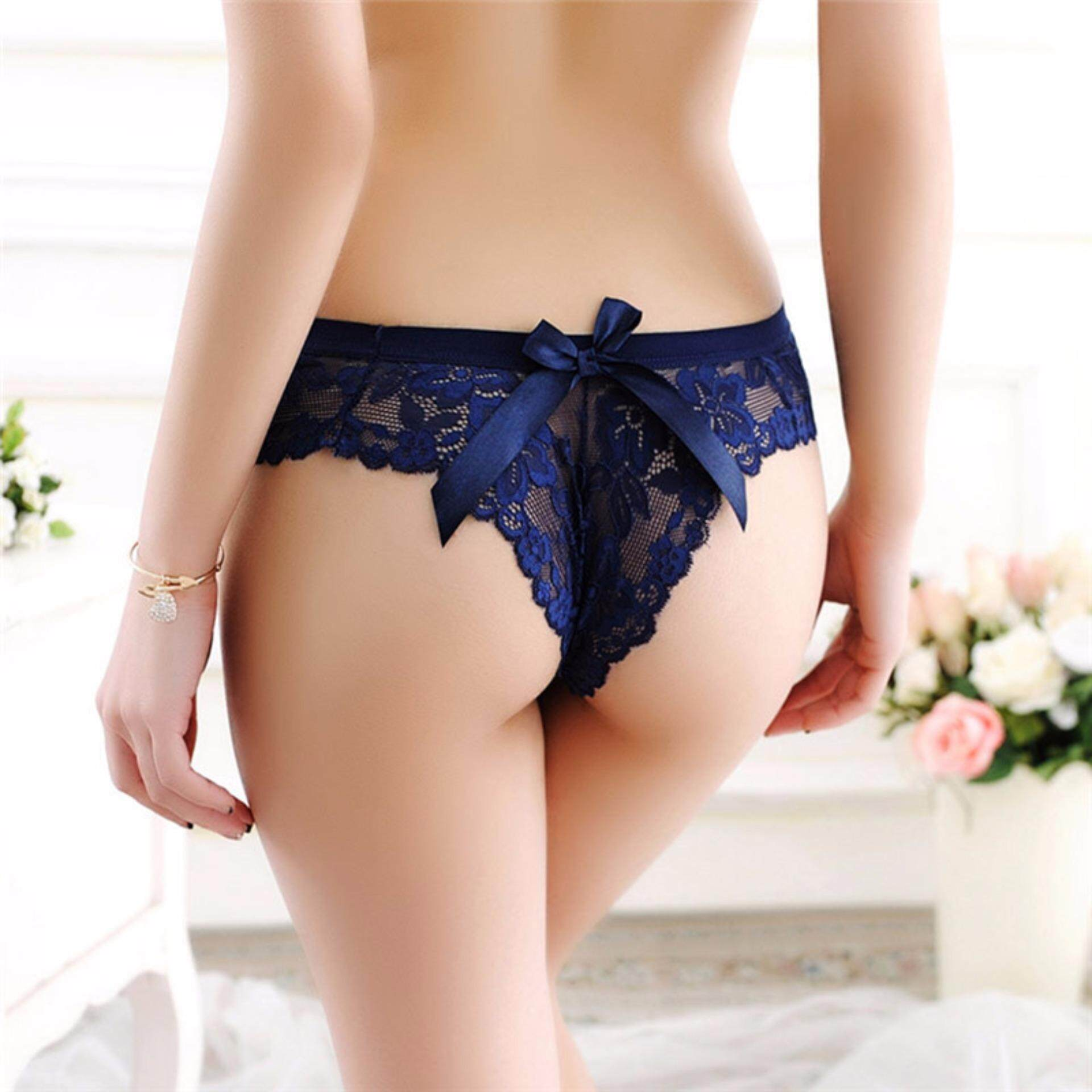 490cbf41e34fd Women Sexy Lace Panties G-string Underwear Lingerie Seamless Briefs  Intimates