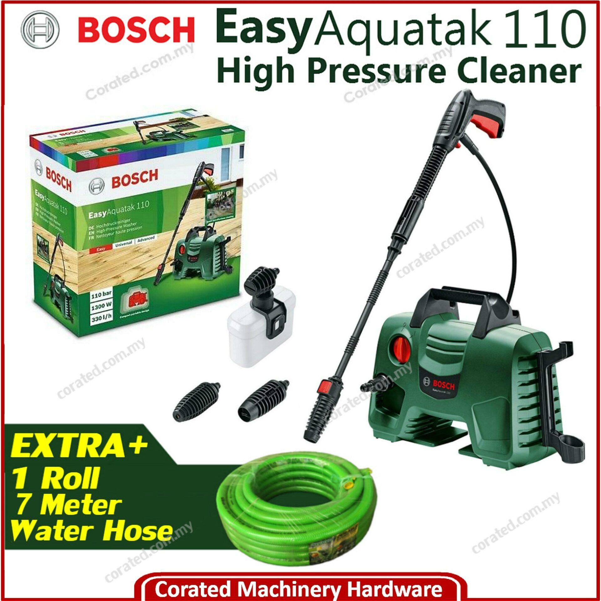 [CORATED] Bosch Aquatak 110 (110 Bar) High Pressure Cleaner(6 Months Warranty) Aquatak110 Easyaquatak 110