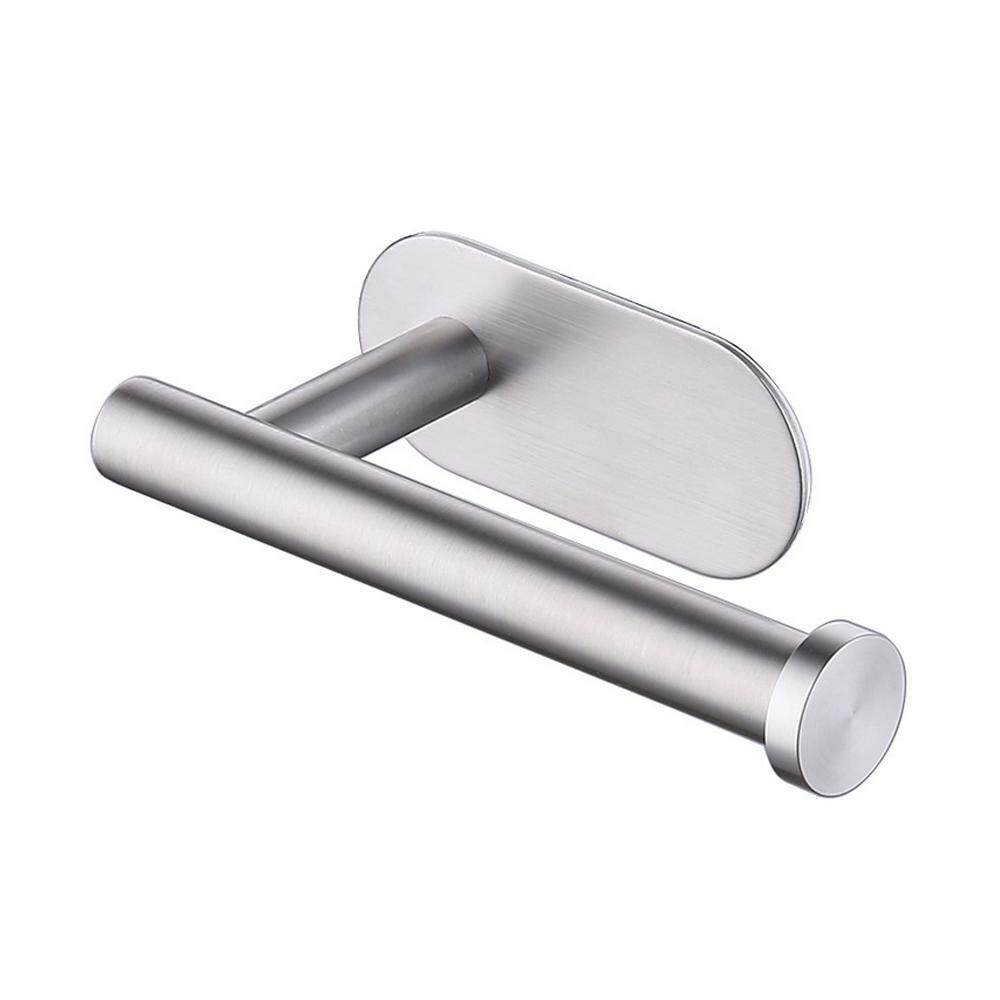 OEM Stainless Steel Paper Towel Rack Nail-free Kitchen Bathroom Free Punch Paper Roll Holder